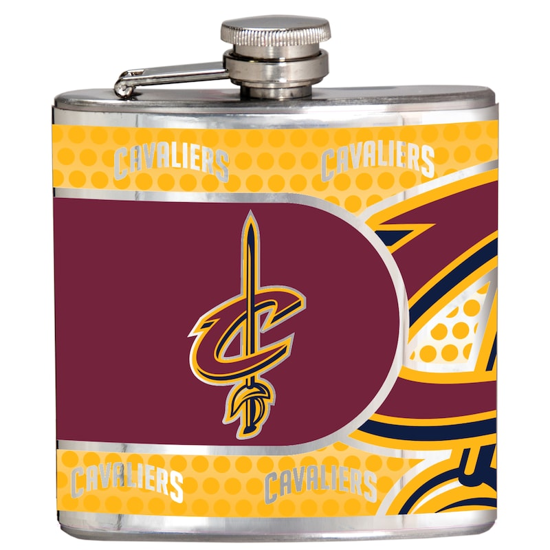 Cleveland Cavaliers 6oz. Stainless Steel Hip Flask - Silver