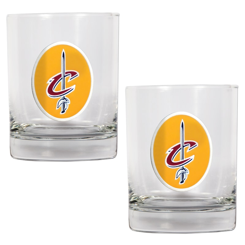 Cleveland Cavaliers 14oz. Rocks Glass Set