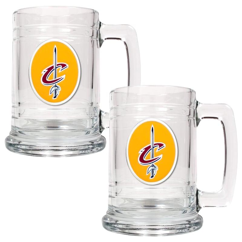 Cleveland Cavaliers 2-Piece 15oz. Tankard Set