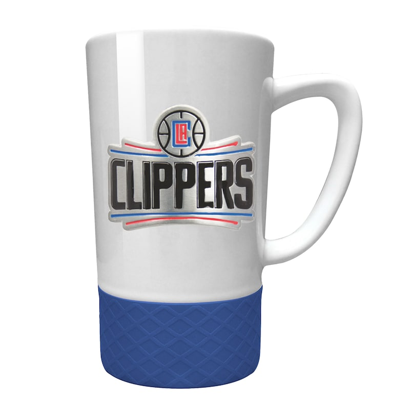 LA Clippers 15oz. Jump Mug with Silicone Grip