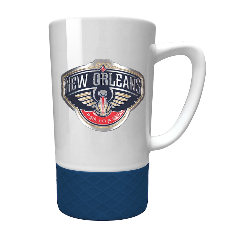 New Orleans Pelicans 15oz. Jump Mug with Silicone Grip
