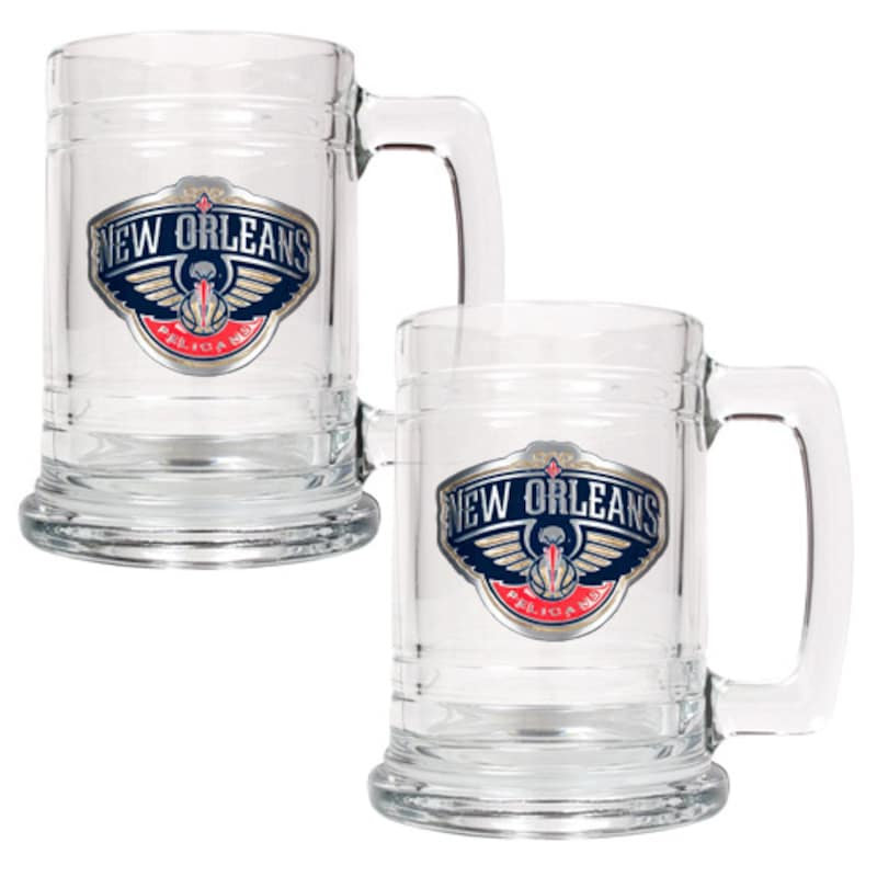 New Orleans Pelicans 2-Piece 15oz. Tankard Set