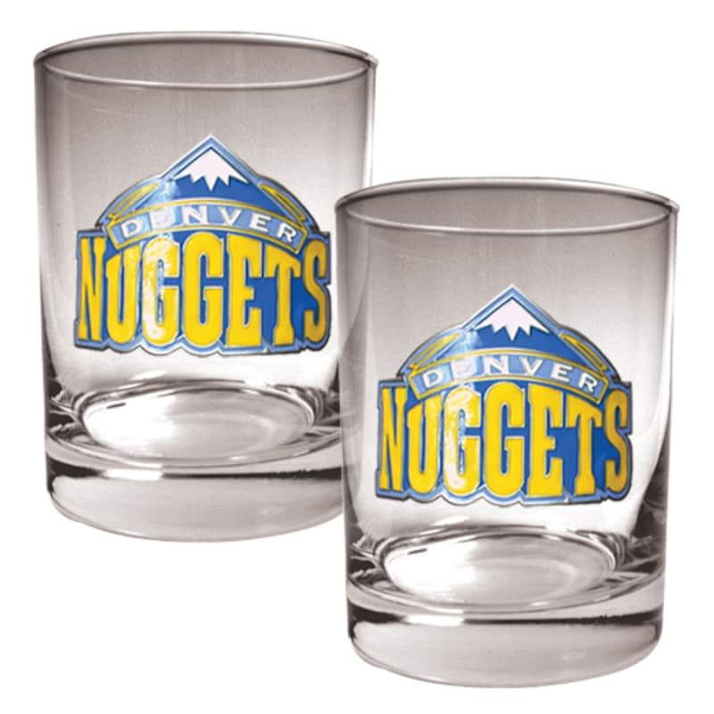 Denver Nuggets 14oz. Rocks Glass Set