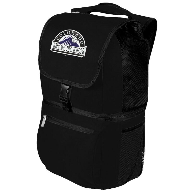 Colorado Rockies Zuma Backpack Cooler - Black