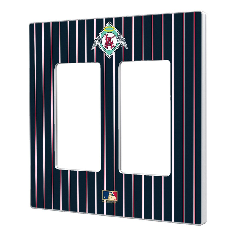 Los Angeles Angels 1961-1965 Cooperstown Pinstripe Double Rocker Light Switch Plate