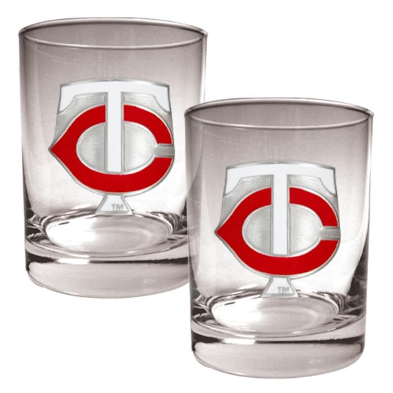 Minnesota Twins 14oz. Rocks Glass Set