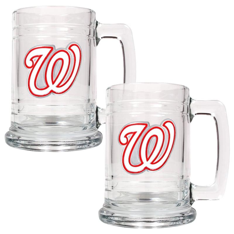 Washington Nationals 2-Piece 15oz. Tankard Set