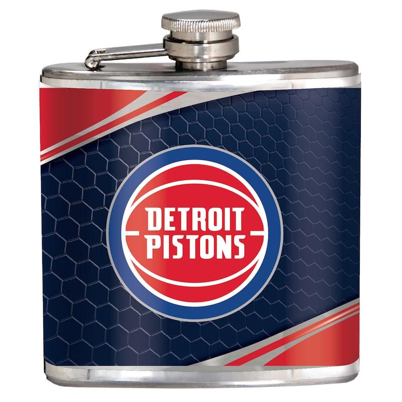 Detroit Pistons 6oz. Hip Flask