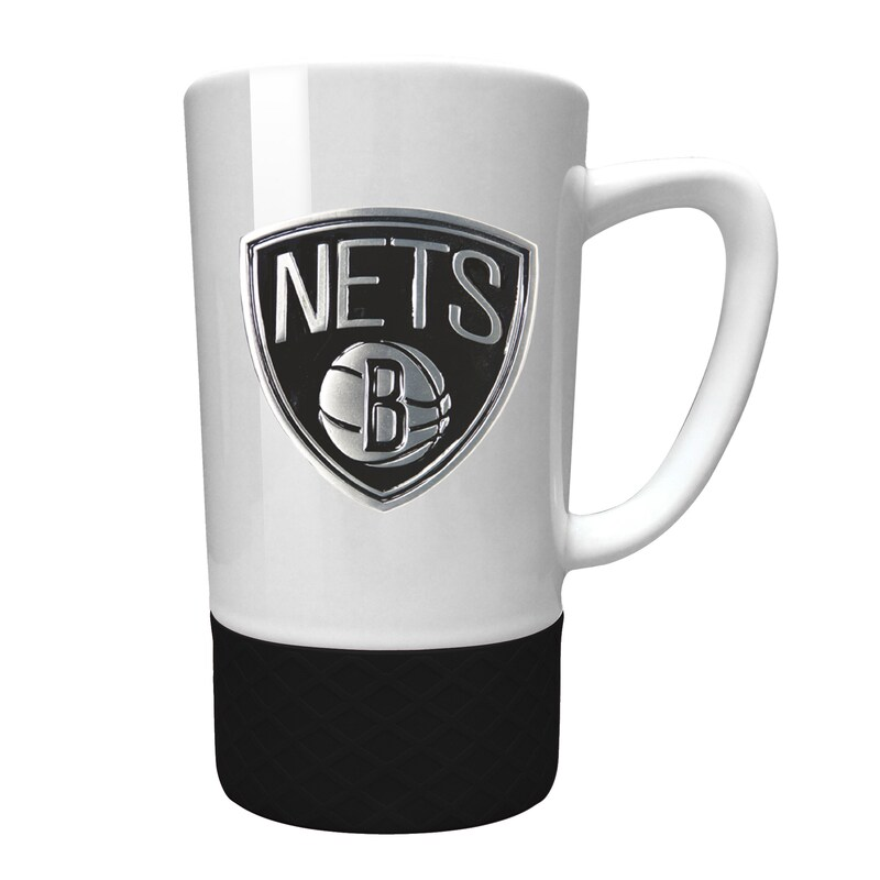 Brooklyn Nets 15oz. Jump Mug with Silicone Grip