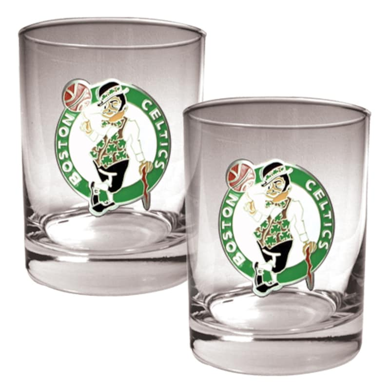 Boston Celtics 14oz. Rocks Glass Set