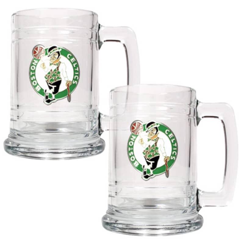 Boston Celtics 2-Piece 15oz. Tankard Set