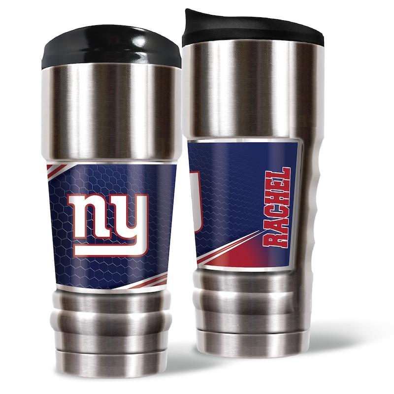 New York Giants 18oz. Personalized MVP Tumbler