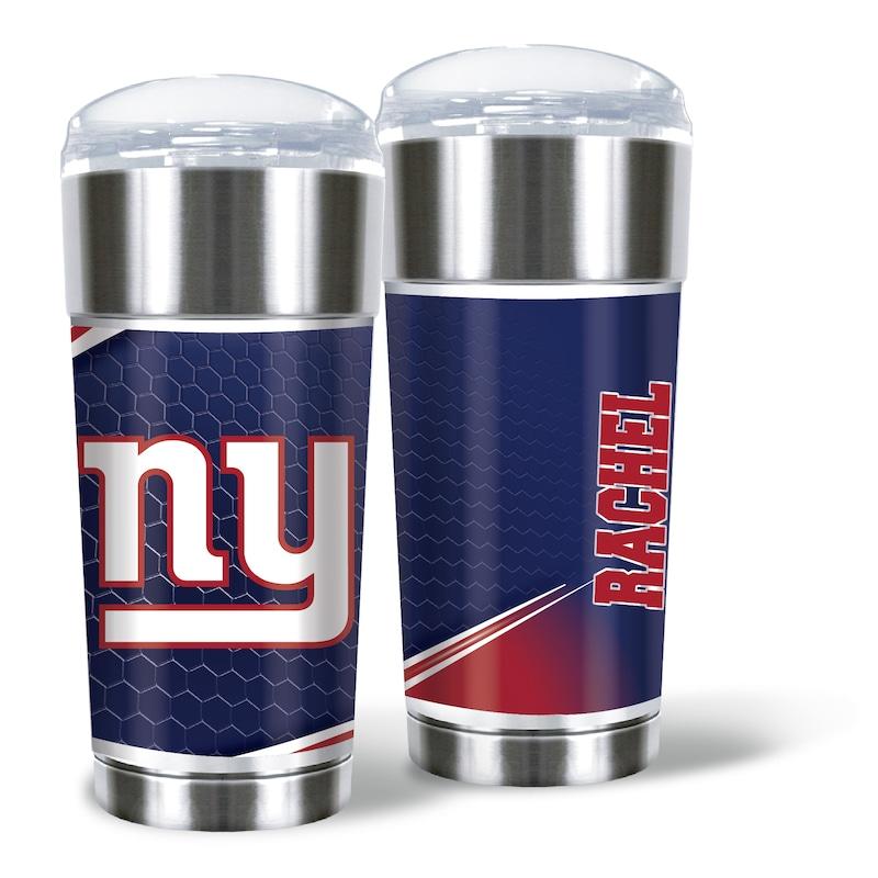 New York Giants 24oz. Personalized Eagle Tumbler