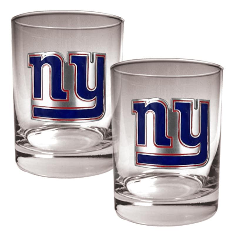 New York Giants 14oz. Rocks Glass Set