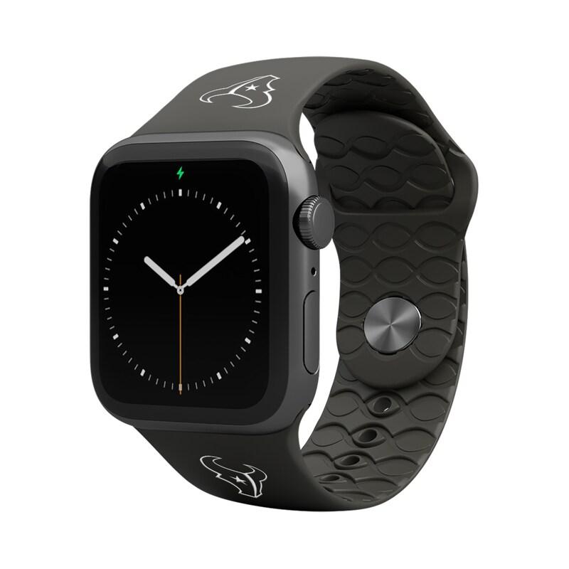 Houston Texans Groove Life 42-44mm Apple Watch Band - Black