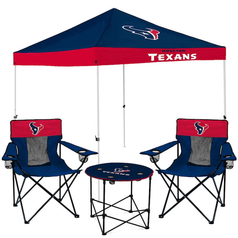 Houston Texans Tailgate Canopy Tent, Table, & Chairs Set