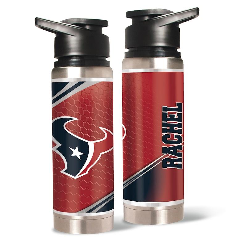 Houston Texans 20oz. Personalized Water Bottle