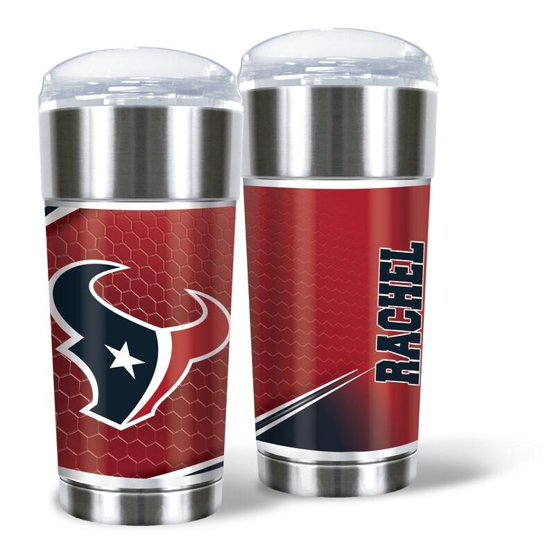 Houston Texans 24oz. Personalized Eagle Tumbler