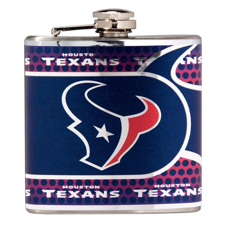 Houston Texans 6oz. Stainless Steel Hip Flask - Silver