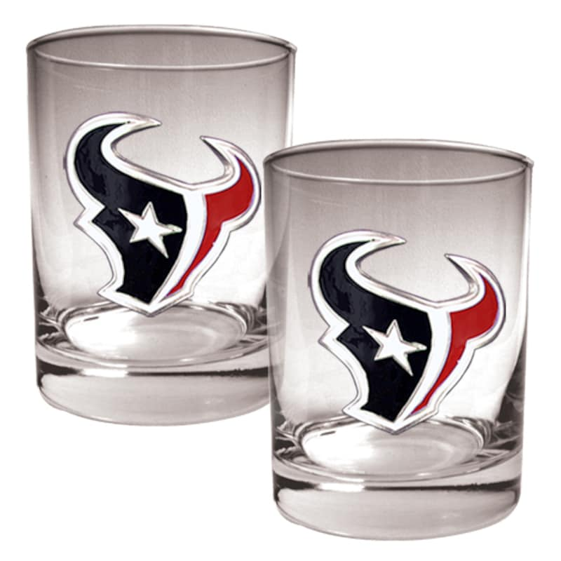 Houston Texans 14oz. Rocks Glass Set