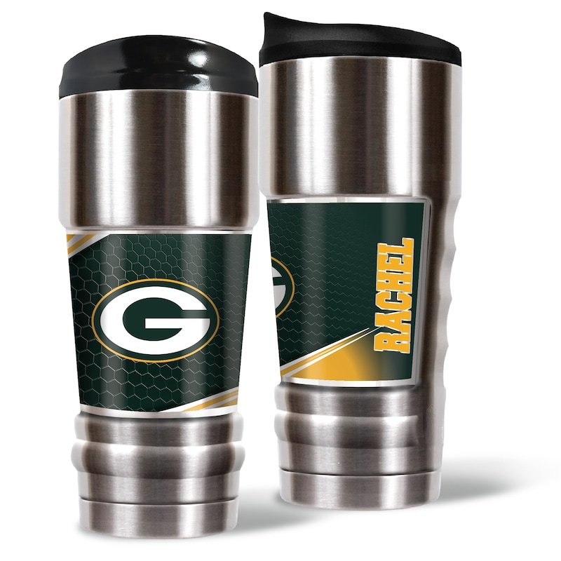 Green Bay Packers 18oz. Personalized MVP Tumbler