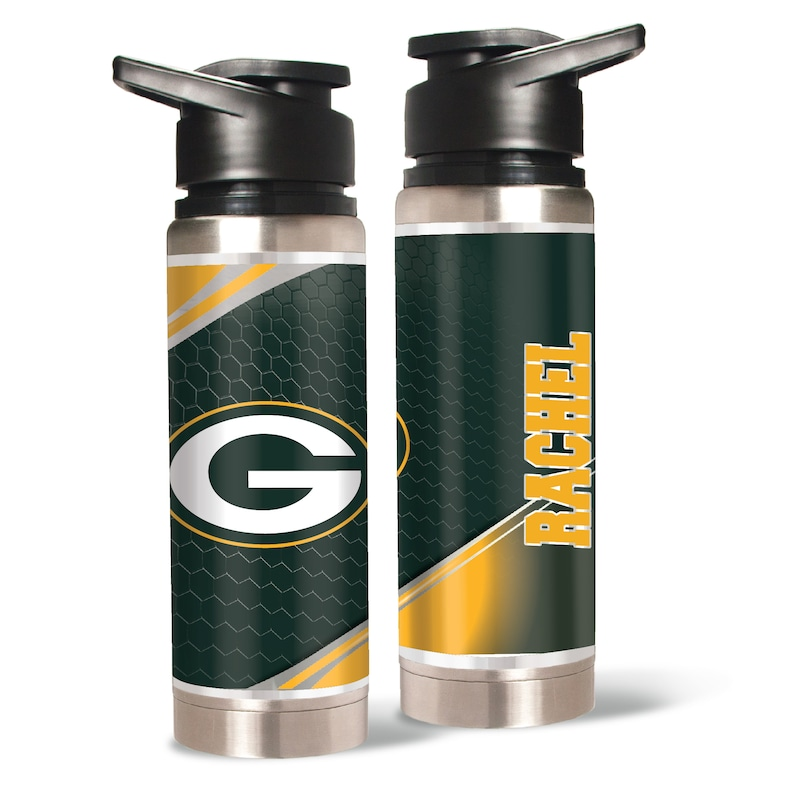 Green Bay Packers 20oz. Personalized Water Bottle