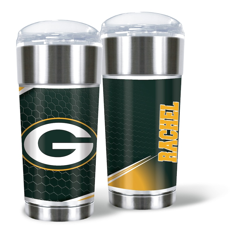 Green Bay Packers 24oz. Personalized Eagle Tumbler