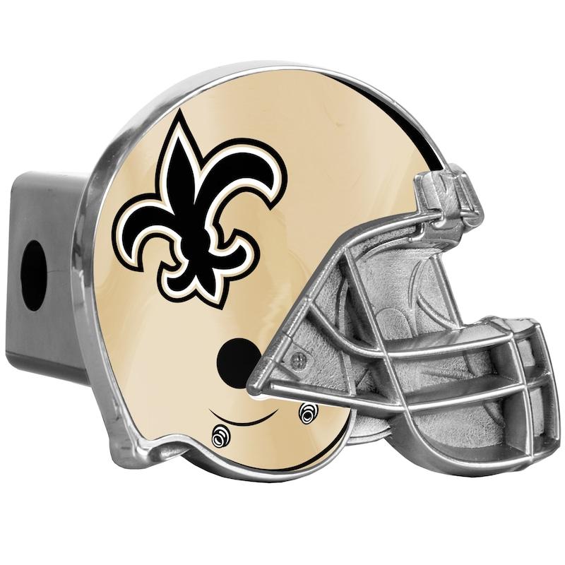 New Orleans Saints Helmet Hitch Cover