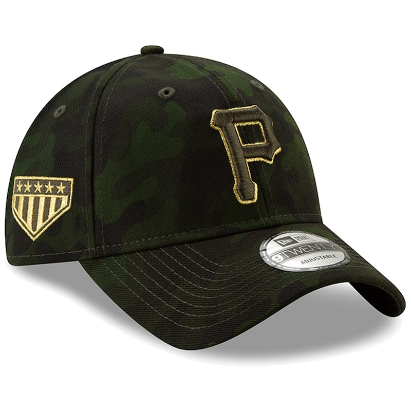 Pittsburgh Pirates New Era MLB Armed Forces Day 9TWENTY Adjustable Hat - Camo