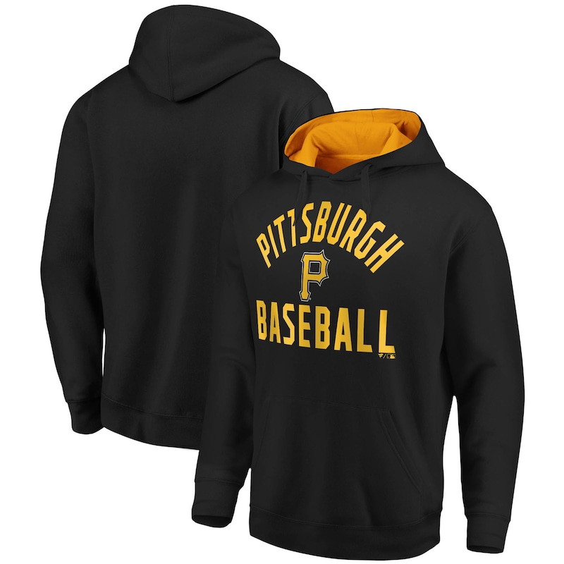 Pittsburgh Pirates Fanatics Branded Big & Tall Team Pride Pullover Hoodie - Black