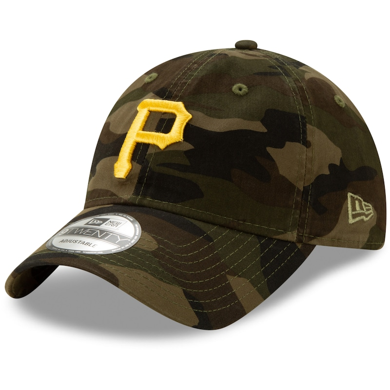 Pittsburgh Pirates New Era Core Classic 9TWENTY Adjustable Hat - Camo