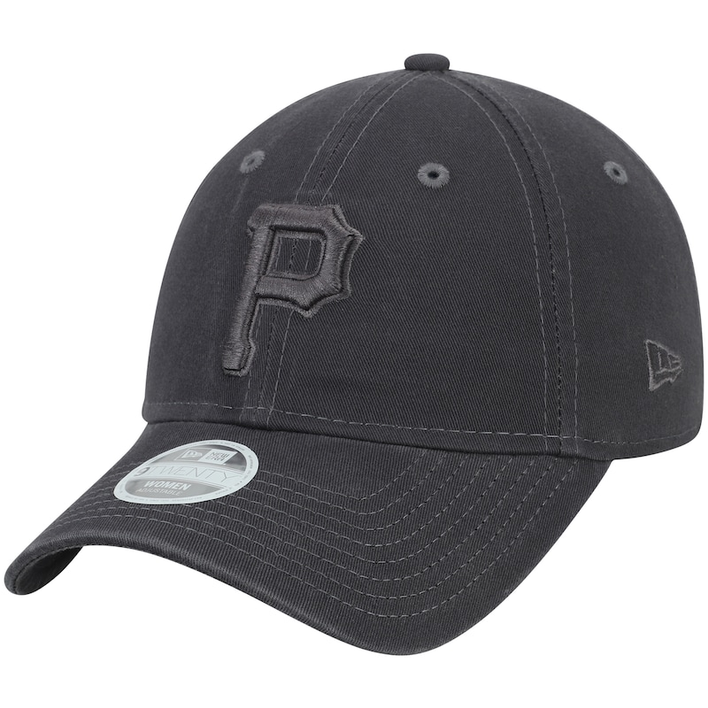 Pittsburgh Pirates New Era Women's Tonal Core Classic 9TWENTY Adjustable Hat - Graphite
