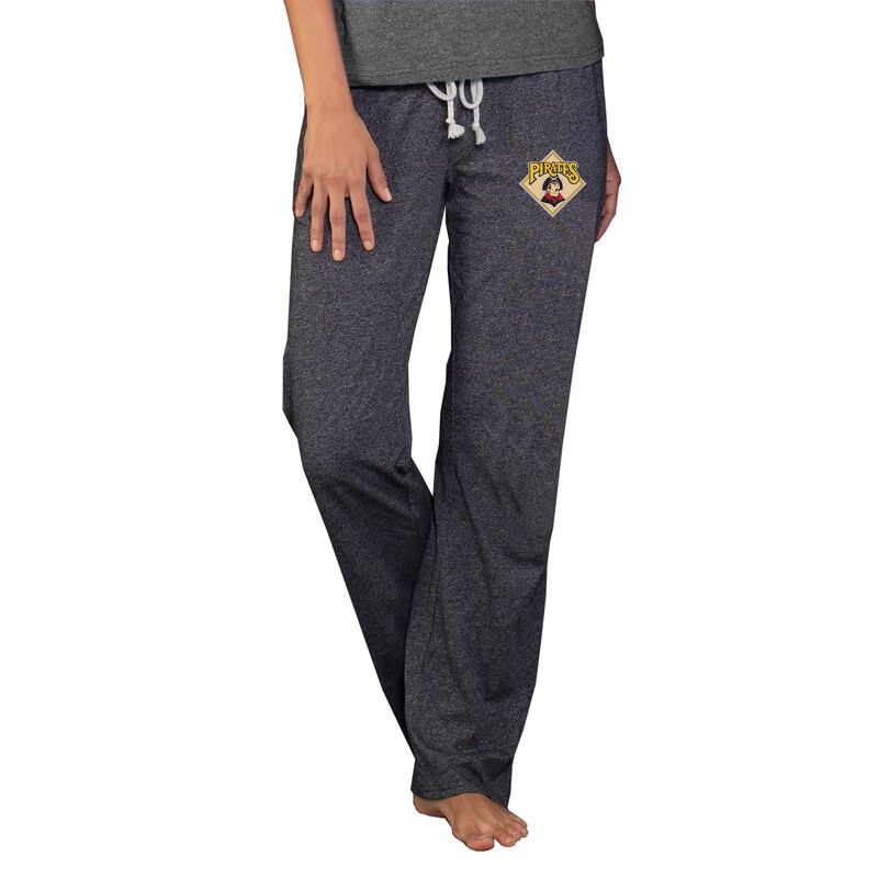 Pittsburgh Pirates Concepts Sport Women's Cooperstown Quest Knit Pants - Charcoal