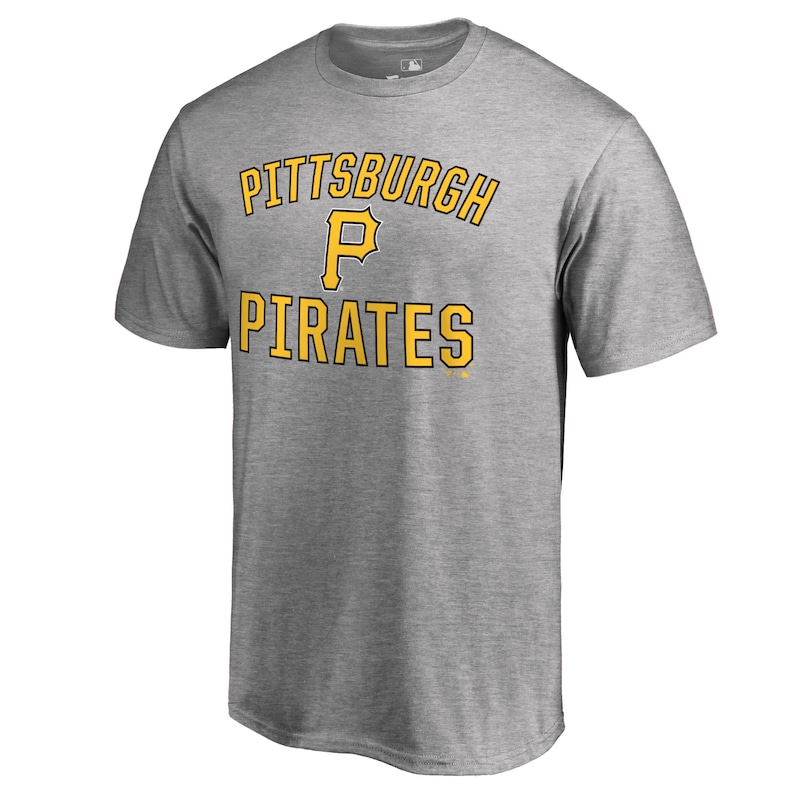 Pittsburgh Pirates Victory Arch T-Shirt - Ash