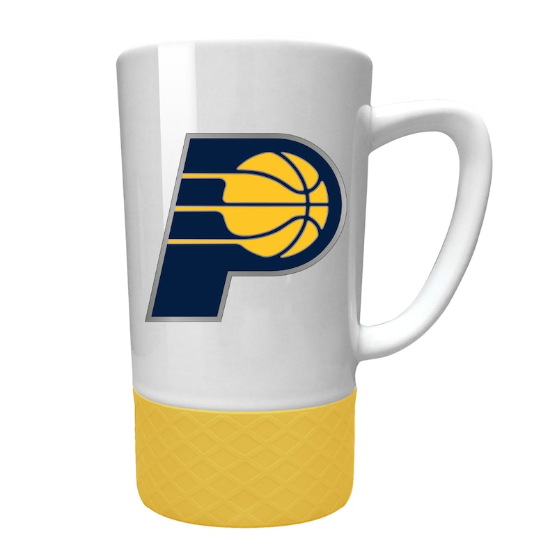 Indiana Pacers 15oz. Jump Mug with Silicone Grip