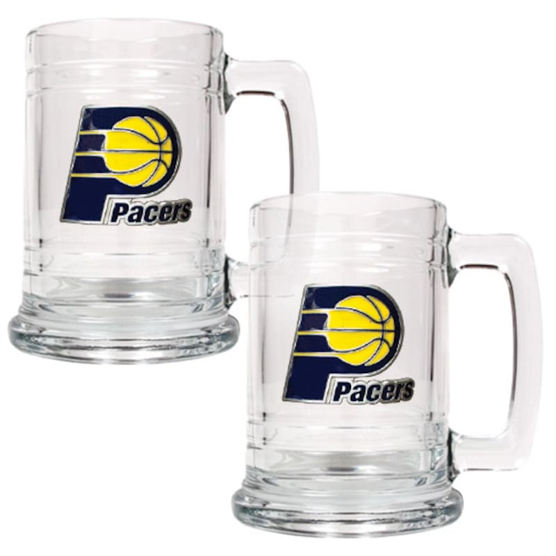 Indiana Pacers 2-Piece 15oz. Tankard Set
