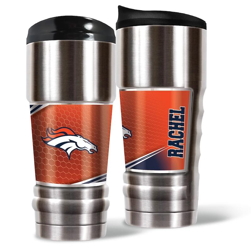 Denver Broncos 18oz. Personalized MVP Tumbler