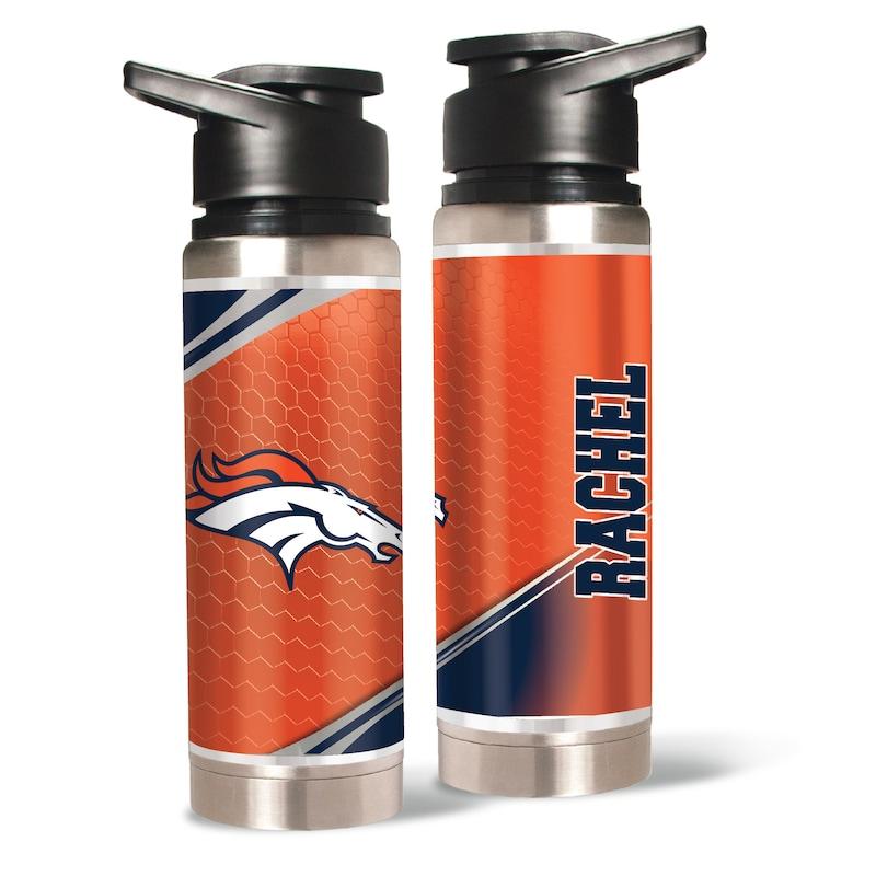 Denver Broncos 20oz. Personalized Water Bottle