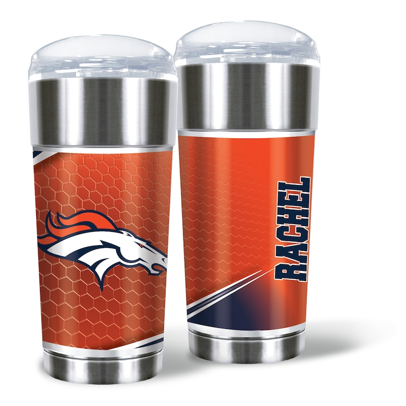 Denver Broncos 24oz. Personalized Eagle Tumbler