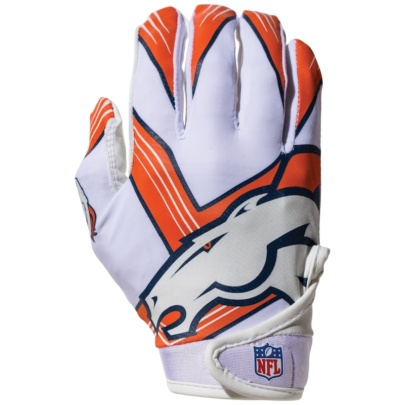 Denver Broncos Franklin Sports Youth Receiver Gloves