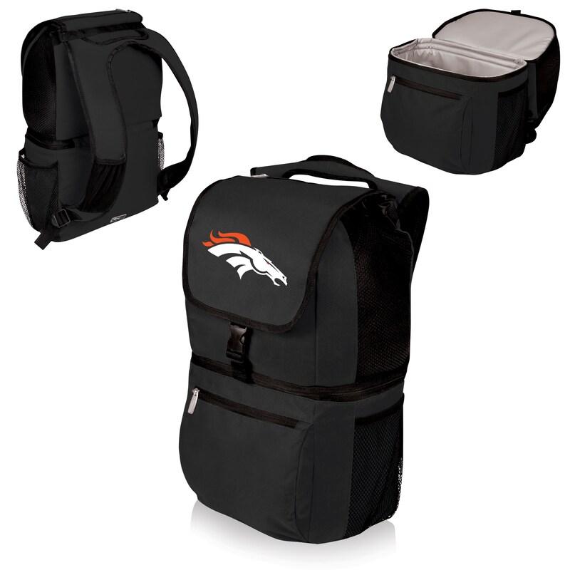Denver Broncos Zuma Cooler Backpack - Black