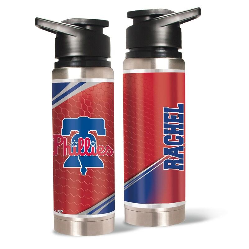Philadelphia Phillies 20oz. Personalized Water Bottle