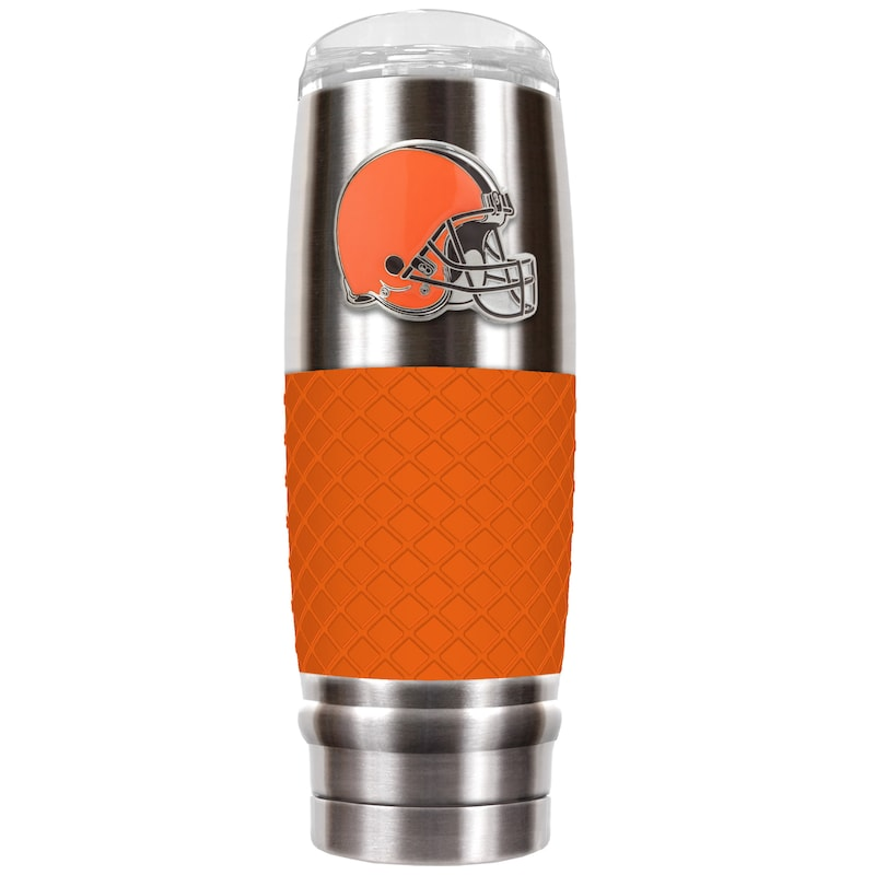 Cleveland Browns 30oz. The Reserve Vacuum-Insulated Travel Tumbler - Orange