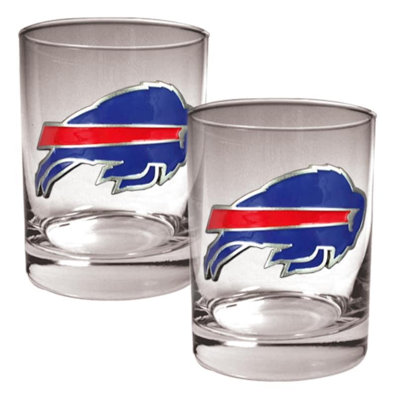 Buffalo Bills 14oz. Rocks Glass Set