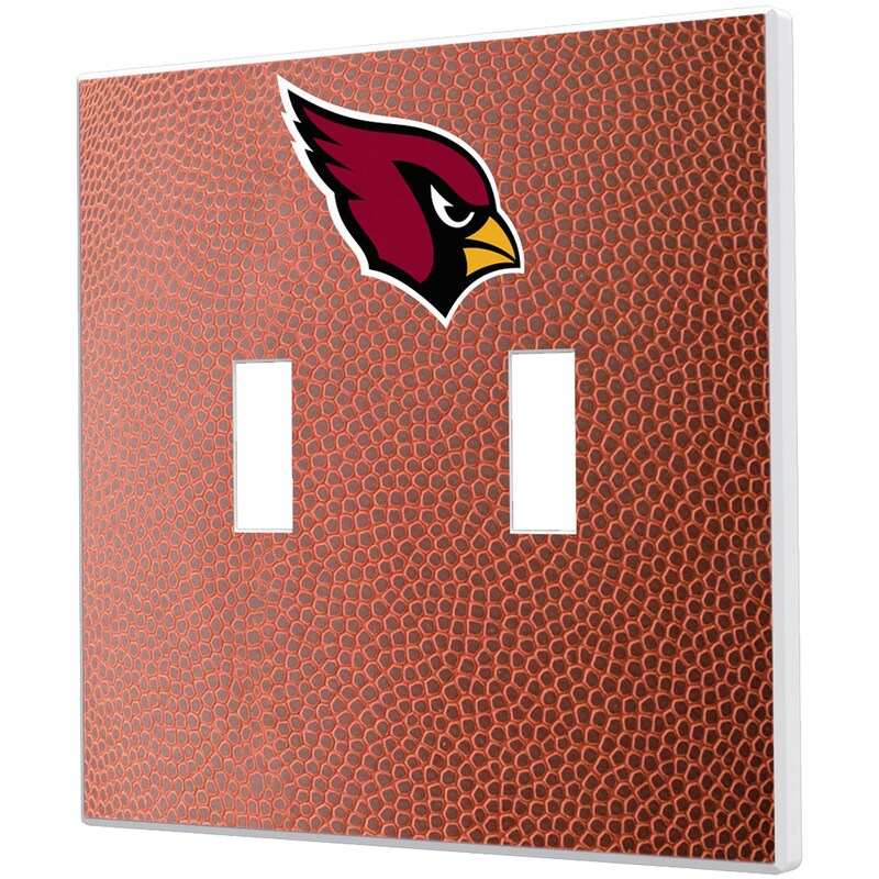 Arizona Cardinals Football Design Double Toggle Light Switch Plate