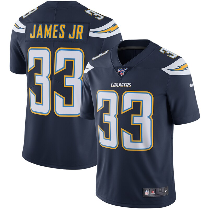 Derwin James Los Angeles Chargers Nike NFL 100 Vapor Limited Jersey - Navy