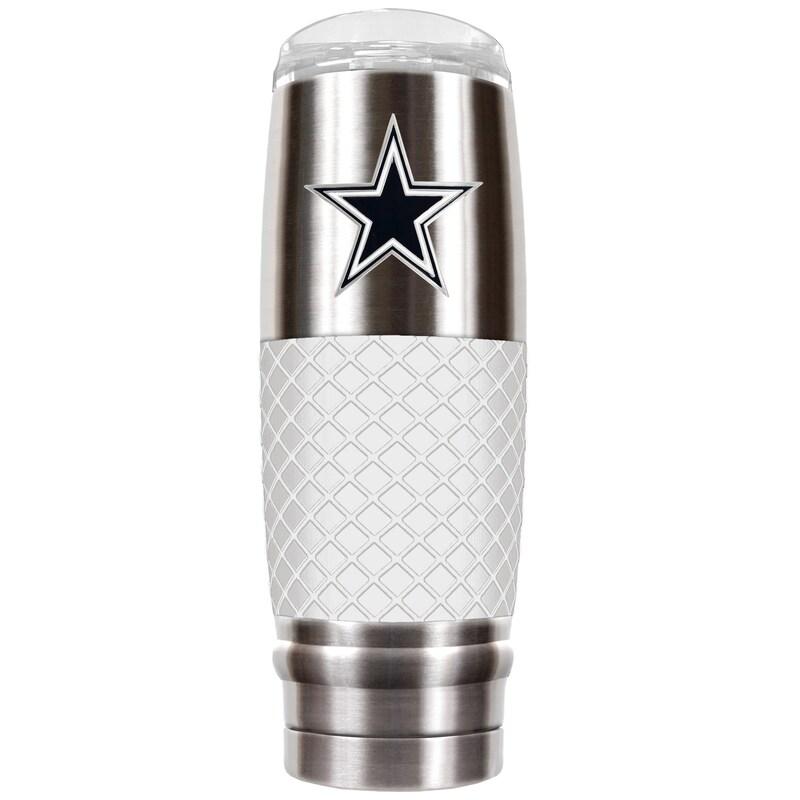 Dallas Cowboys 30oz. The Reserve Vacuum-Insulated Travel Tumbler - Gray