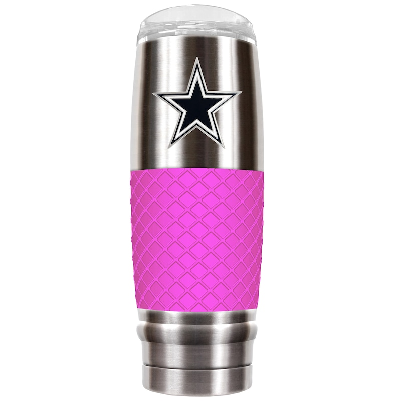 Dallas Cowboys 30oz. The Reserve Vacuum-Insulated Travel Tumbler - Pink