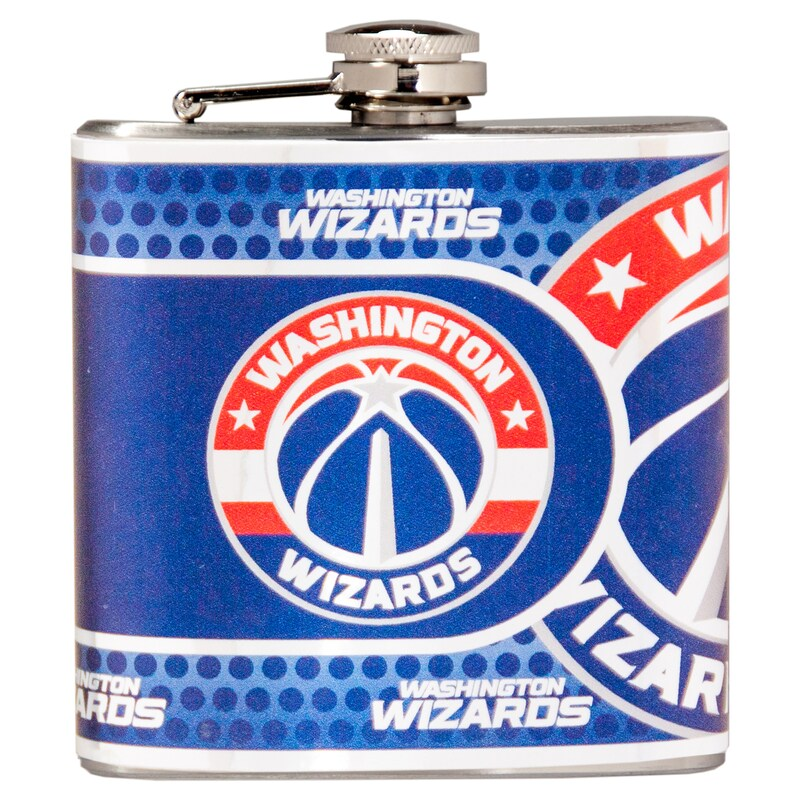 Washington Wizards 6oz. Stainless Steel Hip Flask - Silver