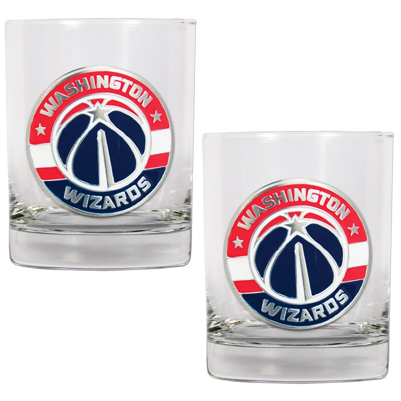 Washington Wizards 14oz. Rocks Glass Set